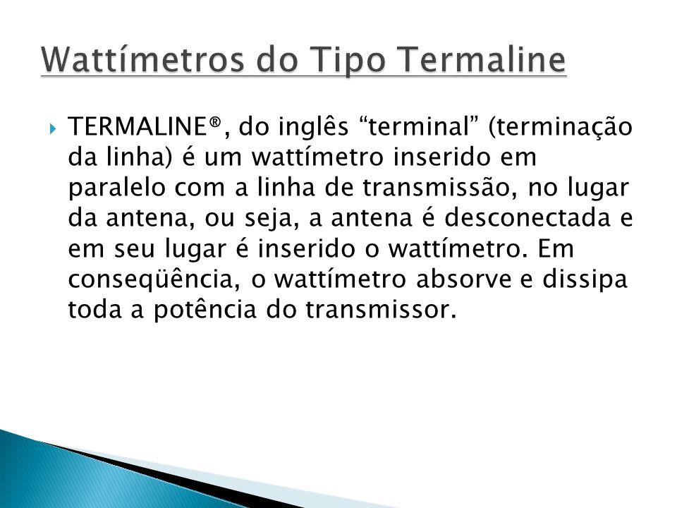 Wattímetros do Tipo Termaline