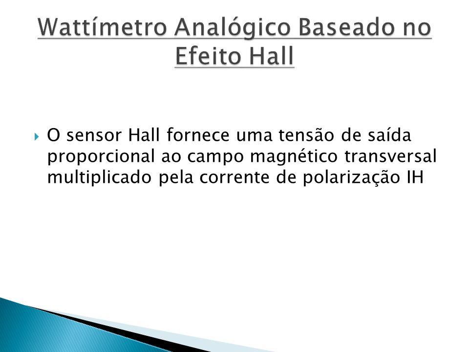 Wattímetro Analógico Baseado no Efeito Hall
