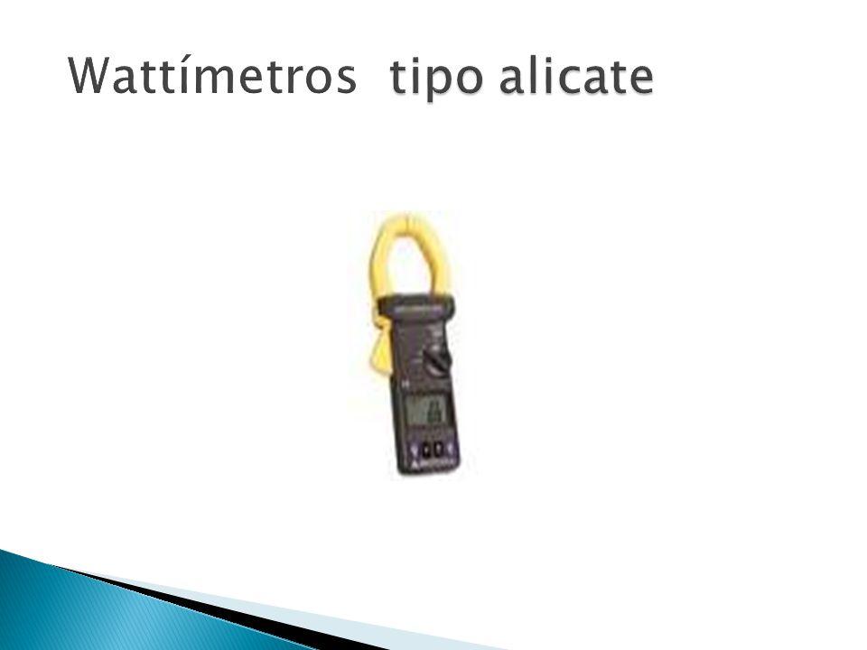 Wattímetros tipo alicate