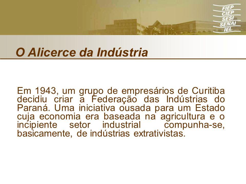 O Alicerce da Indústria