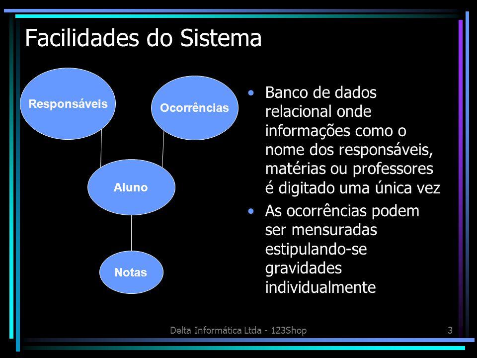 Facilidades do Sistema