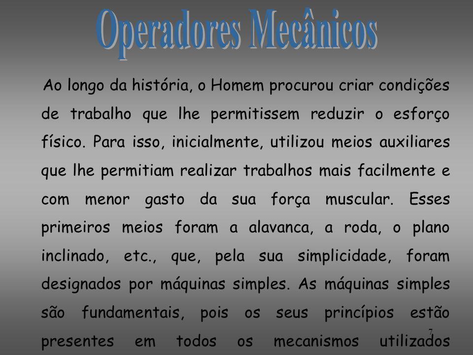 Operadores Mecânicos