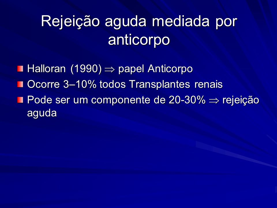 Rejeição aguda mediada por anticorpo
