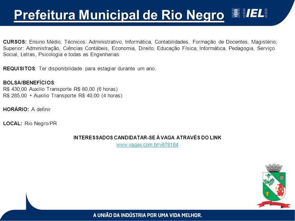 Prefeitura Municipal de Rio Negro