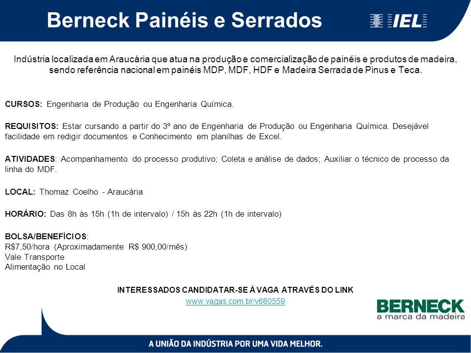 Berneck Painéis e Serrados