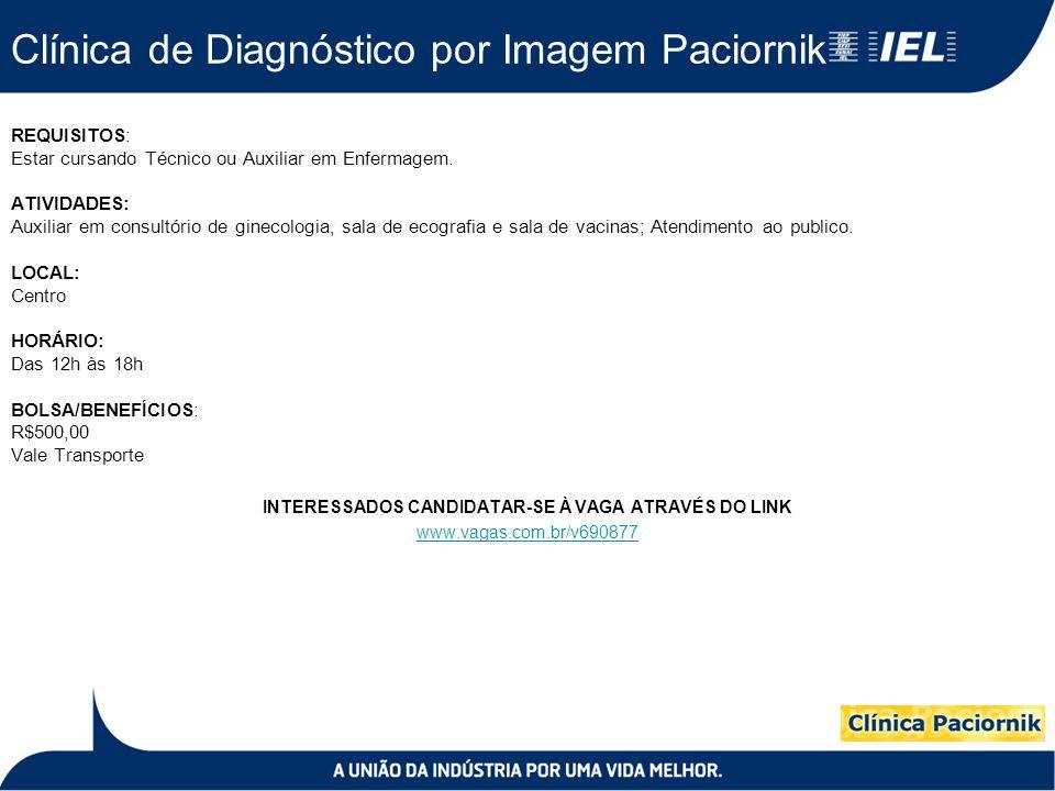 Clínica de Diagnóstico por Imagem Paciornik