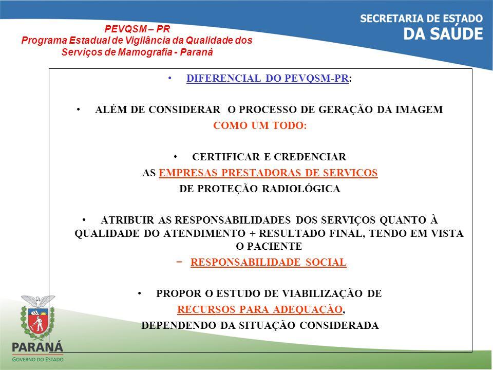 DIFERENCIAL DO PEVQSM-PR: