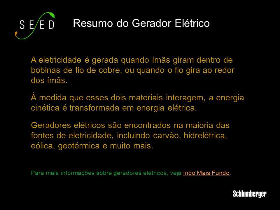 Resumo do Gerador Elétrico