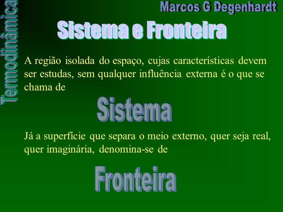 Sistema e Fronteira Sistema Fronteira