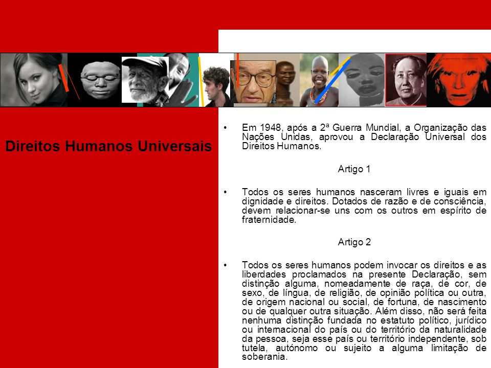 Direitos Humanos Universais