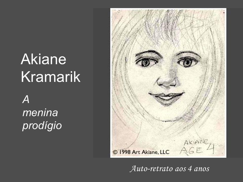 Akiane Kramarik A menina prodígio Auto-retrato aos 4 anos