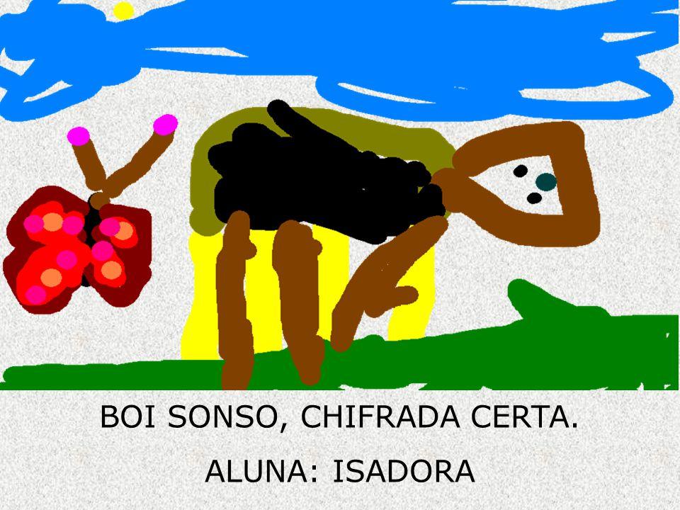 BOI SONSO, CHIFRADA CERTA.