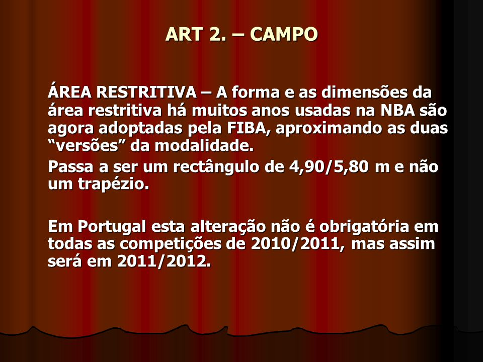 ART 2. – CAMPO