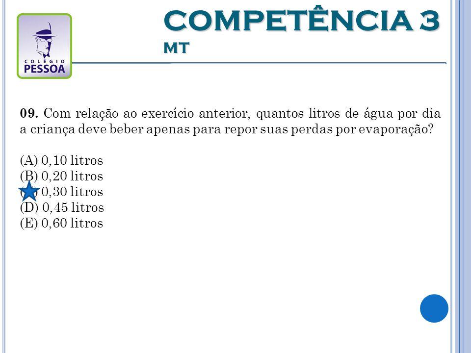 COMPETÊNCIA 3 MT