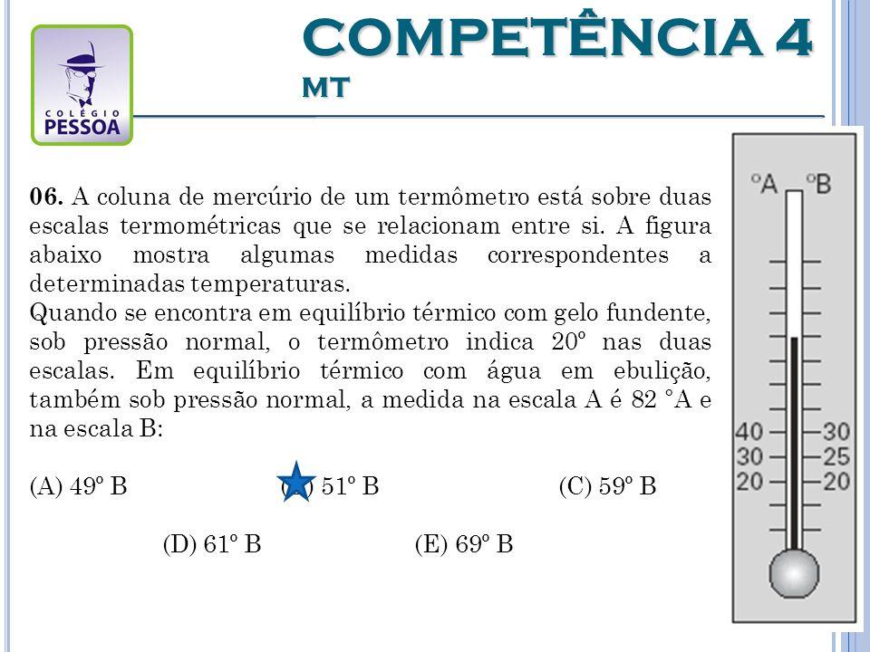COMPETÊNCIA 4 MT