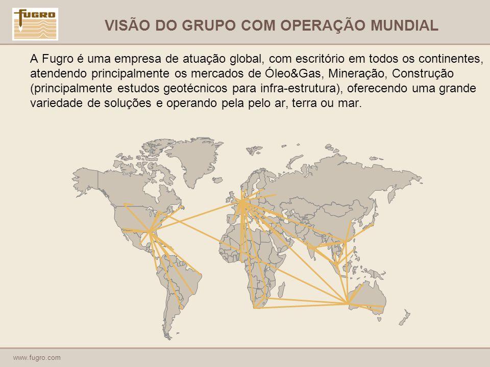 VISÃO DO GRUPO COM OPERAÇÃO MUNDIAL