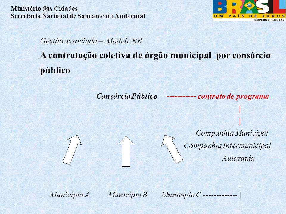 A contratação coletiva de órgão municipal por consórcio público
