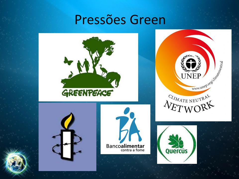 Pressões Green