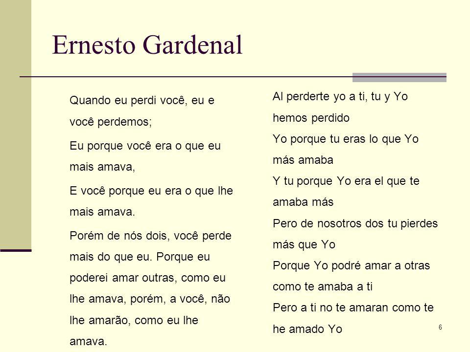 Ernesto Gardenal