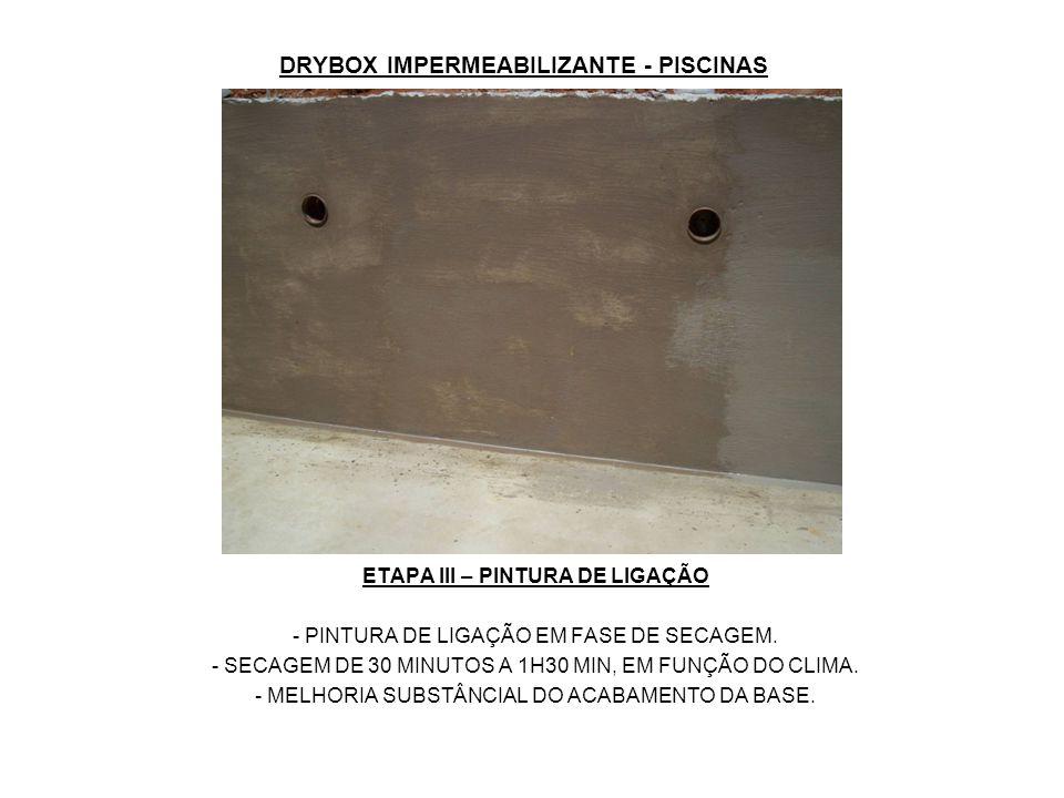 DRYBOX IMPERMEABILIZANTE - PISCINAS