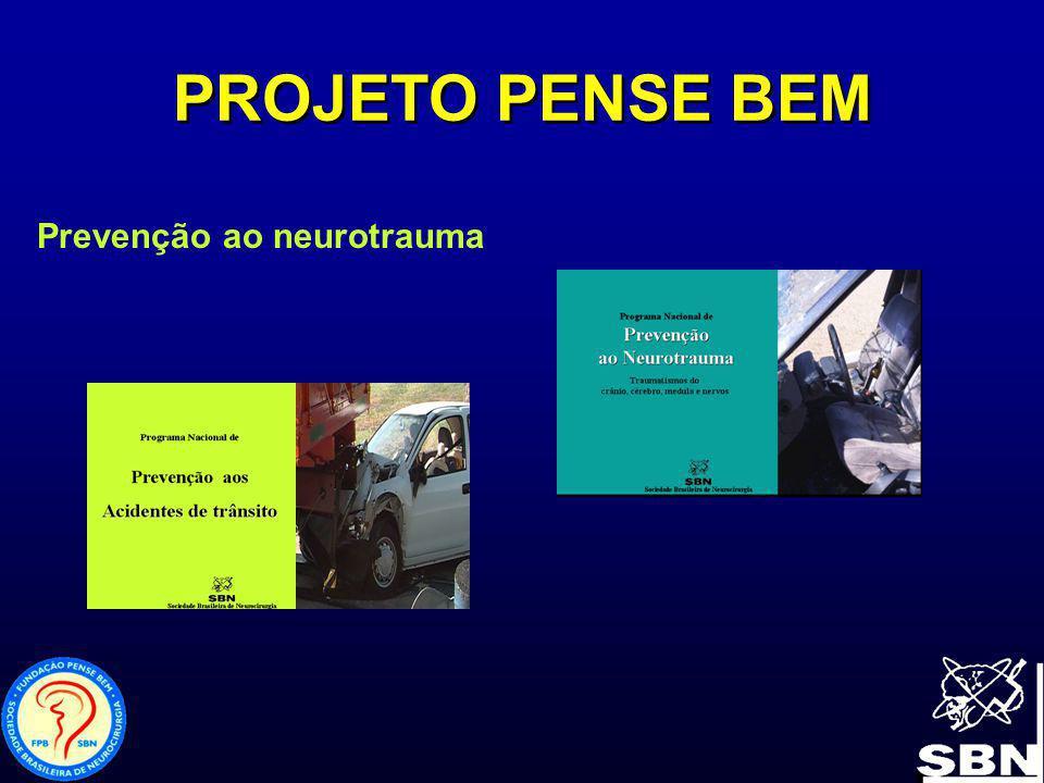 PROJETO PENSE BEM Prevenção ao neurotrauma
