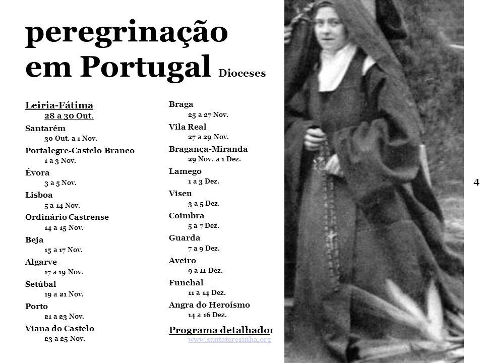 peregrinação em Portugal Dioceses