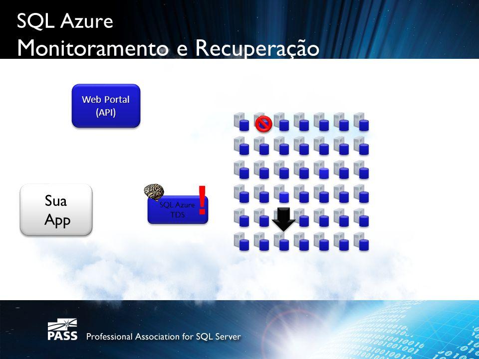 SQL Azure Monitoramento e Recuperação