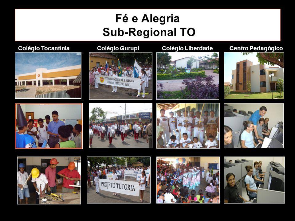 Fé e Alegria Sub-Regional TO