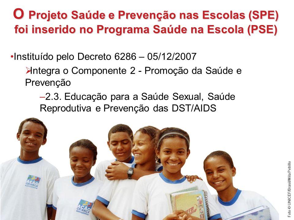 O Projeto Saúde e Prevenção nas Escolas (SPE)