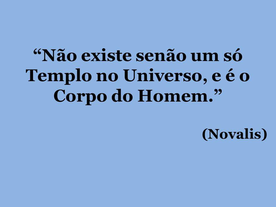 Não existe senão um só Templo no Universo, e é o Corpo do Homem.