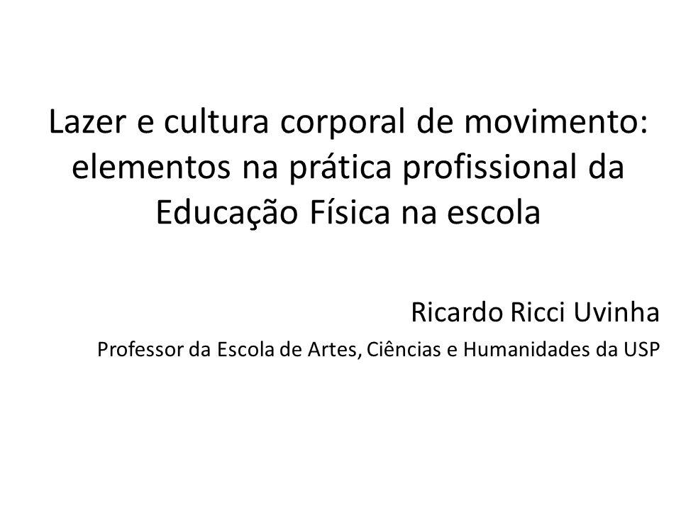 Lazer e cultura corporal de movimento: elementos na prática profissional da Educação Física na escola