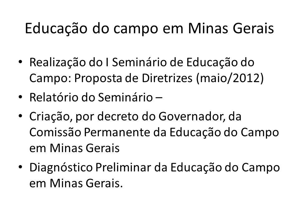 Educação do campo em Minas Gerais