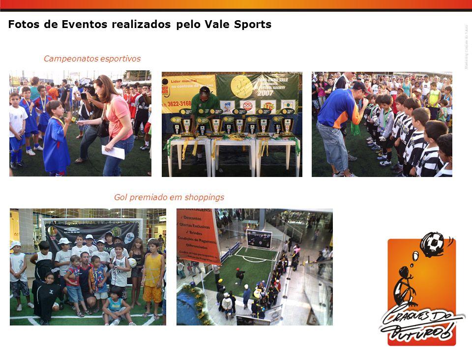 Fotos de Eventos realizados pelo Vale Sports