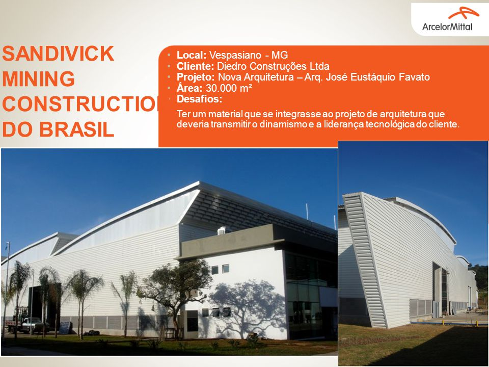 SANDIVICK MINING CONSTRUCTION DO BRASIL