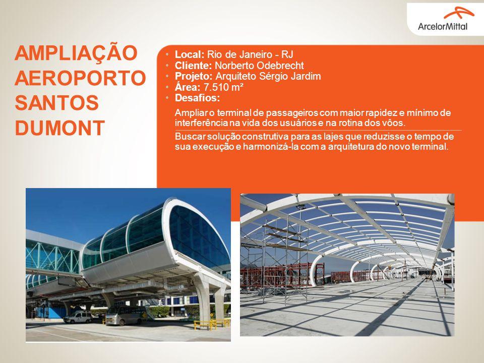 AMPLIAÇÃO AEROPORTO SANTOS DUMONT