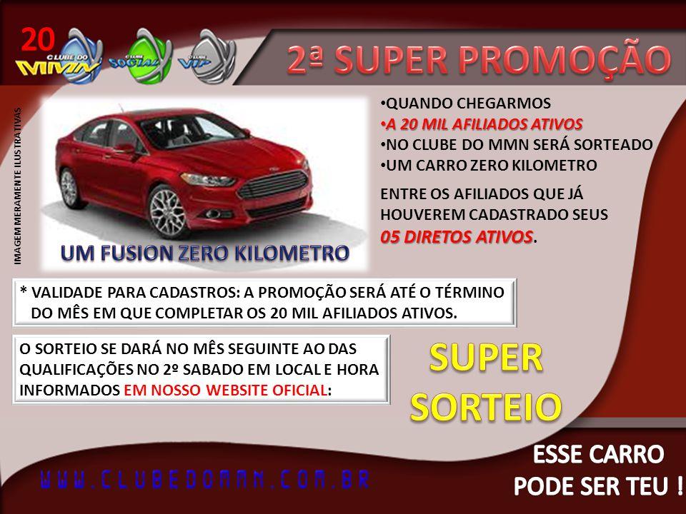2ª SUPER PROMOÇÃO SUPER SORTEIO 20 ESSE CARRO PODE SER TEU !