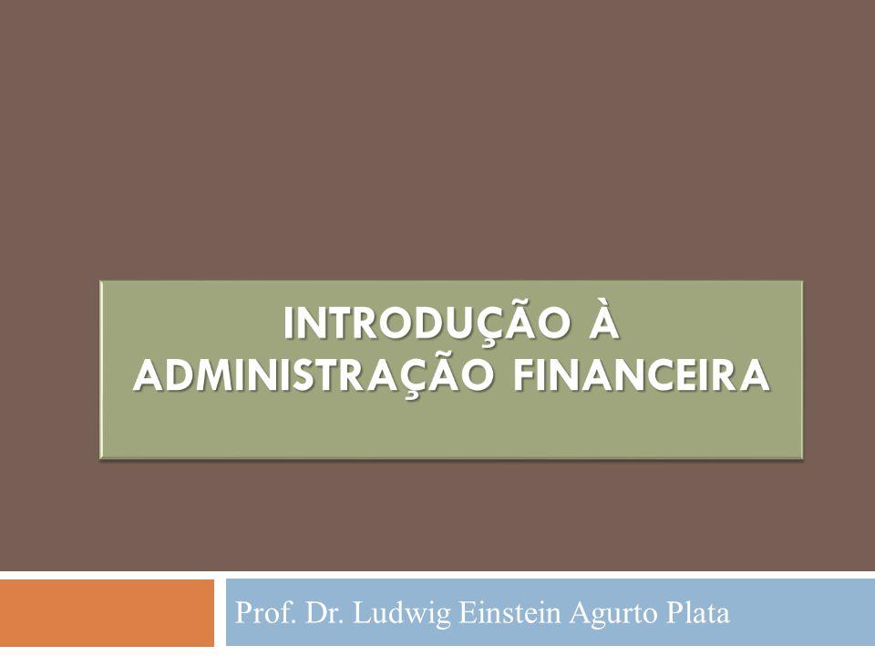 Introdução à Administração Financeira