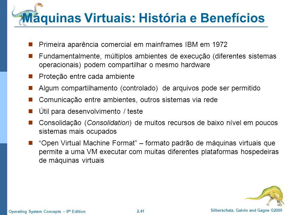 Máquinas Virtuais: História e Benefícios
