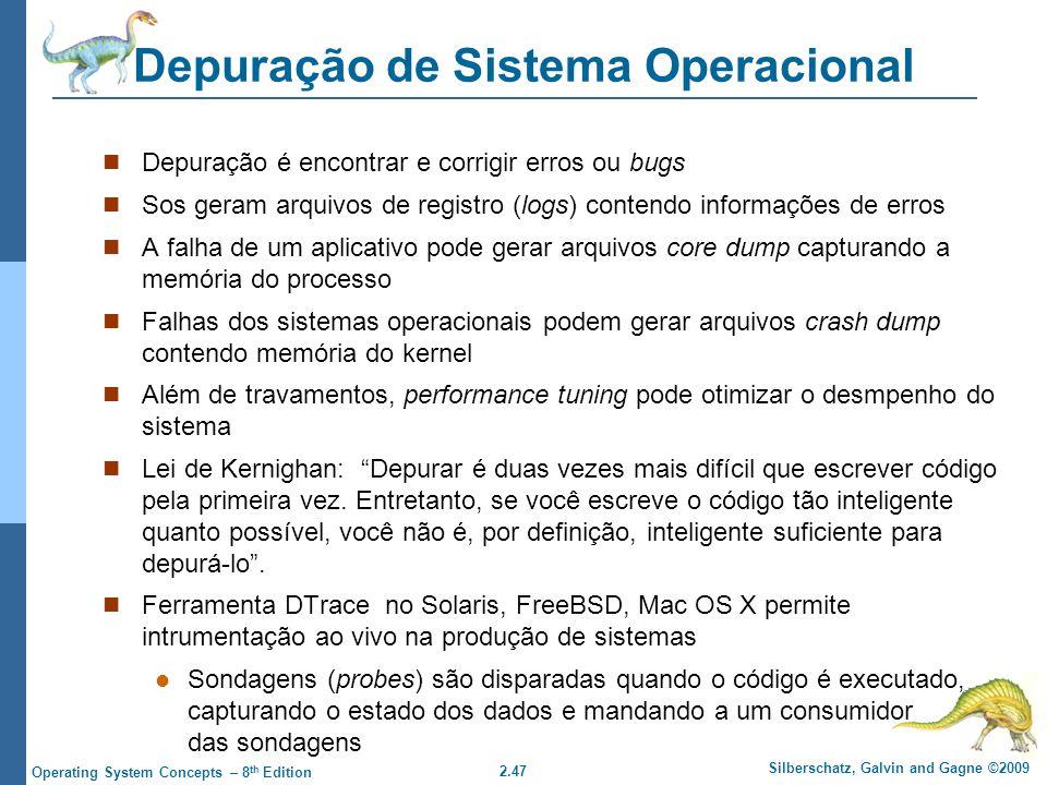 Depuração de Sistema Operacional