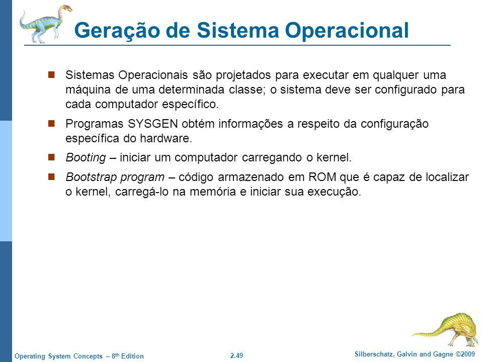 Geração de Sistema Operacional