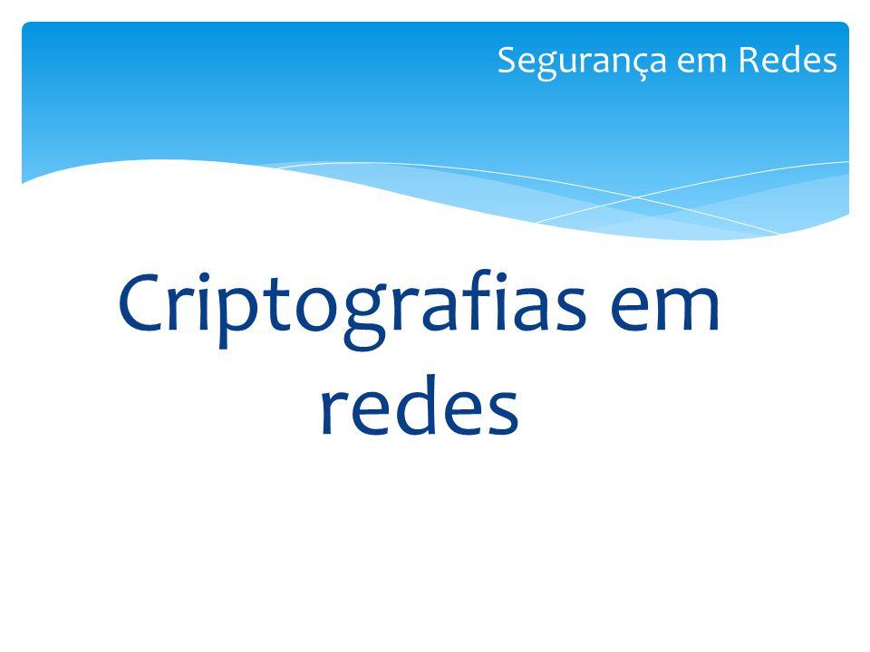 Criptografias em redes