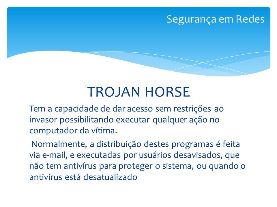 TROJAN HORSE Segurança em Redes