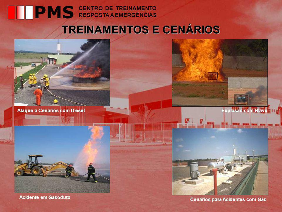 PMS TREINAMENTOS E CENÁRIOS CENTRO DE TREINAMENTO