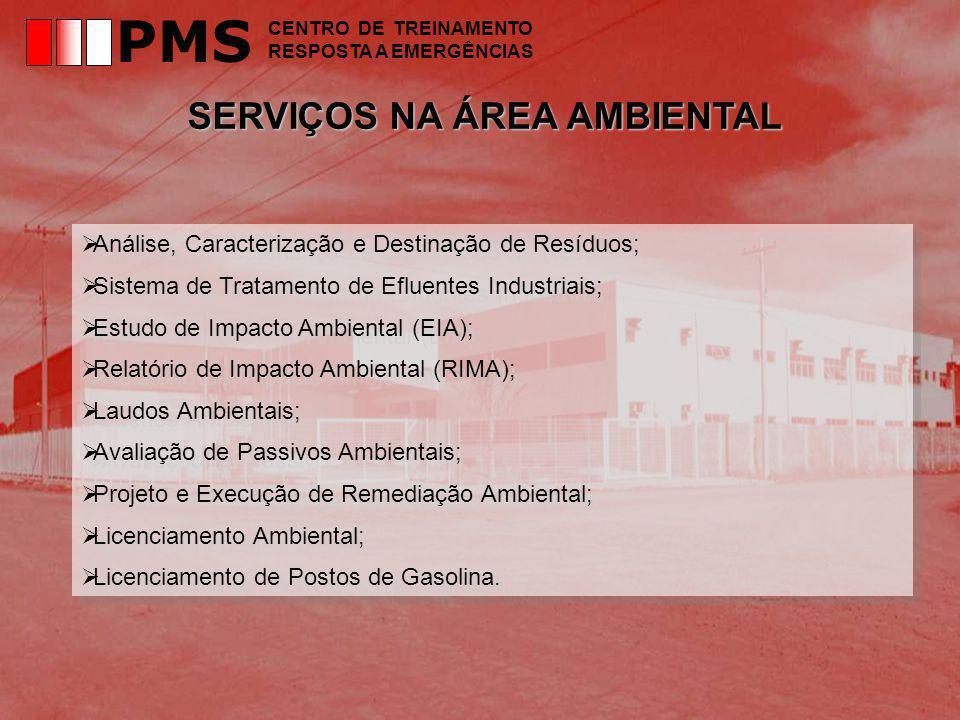 PMS SERVIÇOS NA ÁREA AMBIENTAL