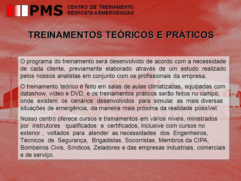 PMS TREINAMENTOS TEÓRICOS E PRÁTICOS