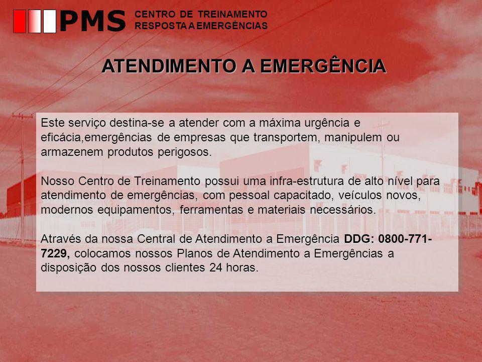 PMS ATENDIMENTO A EMERGÊNCIA