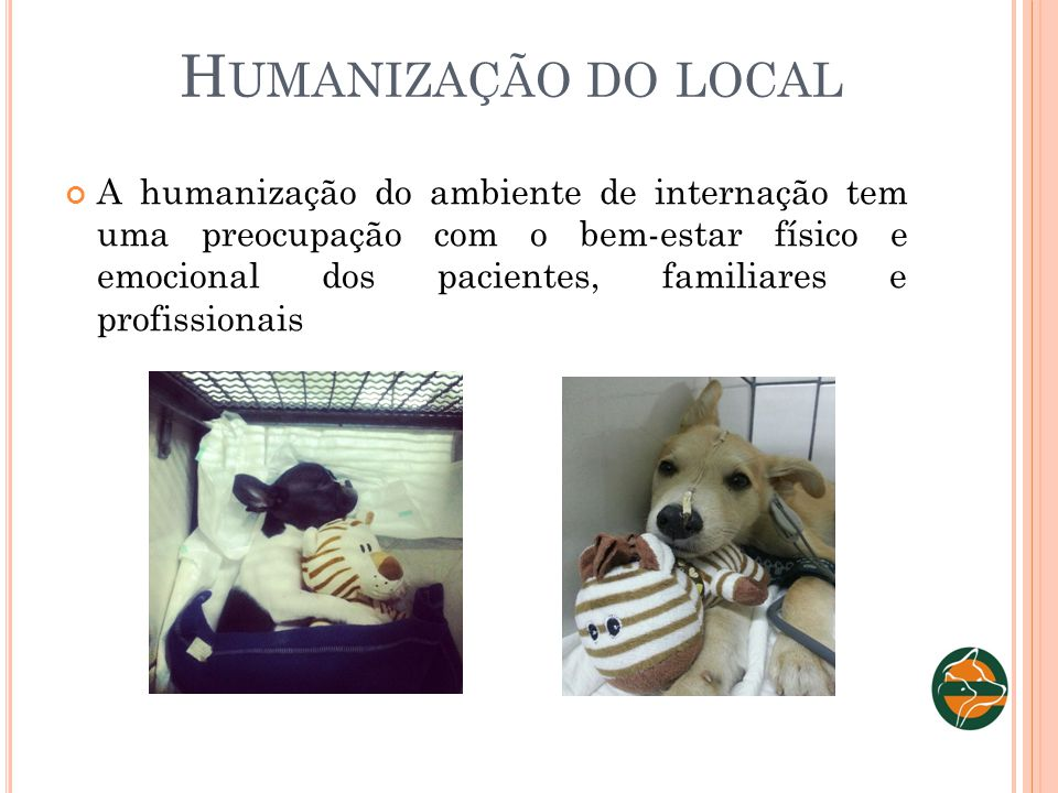 Humanização do local