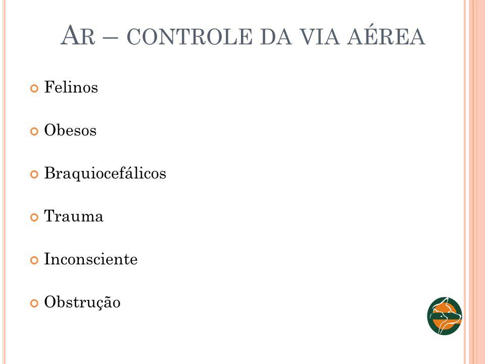 Ar – controle da via aérea