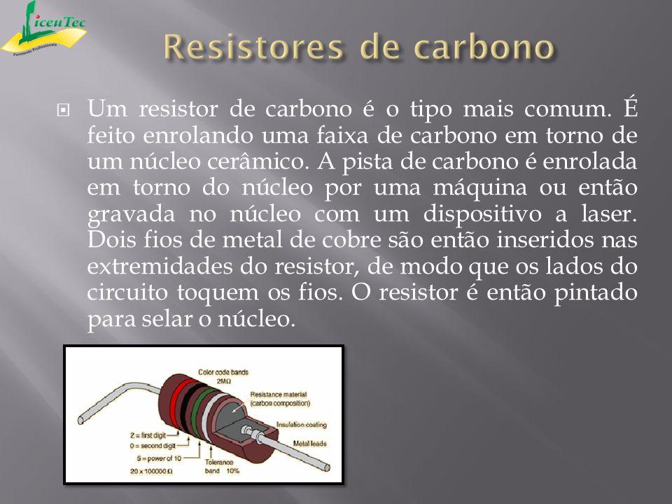 Resistores de carbono