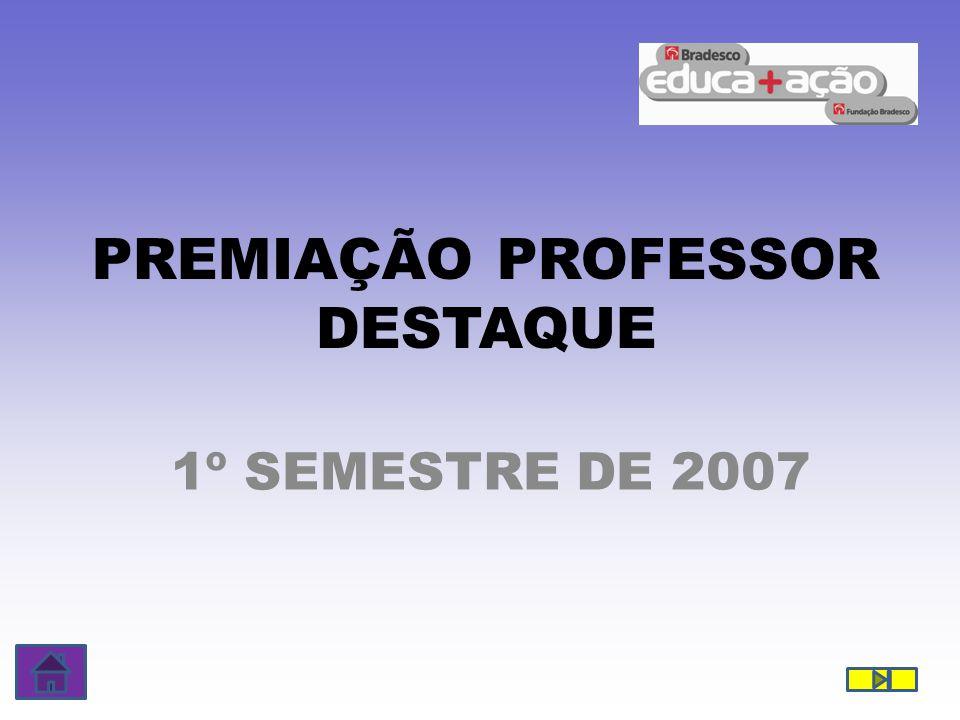 PREMIAÇÃO PROFESSOR DESTAQUE